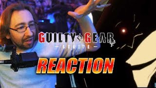 MAX REACTS: GUILTY GEAR STRIVE Reveal & Faust Teaser