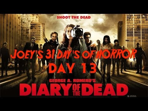 31 Days of Horror: Diary of the Dead (2008)