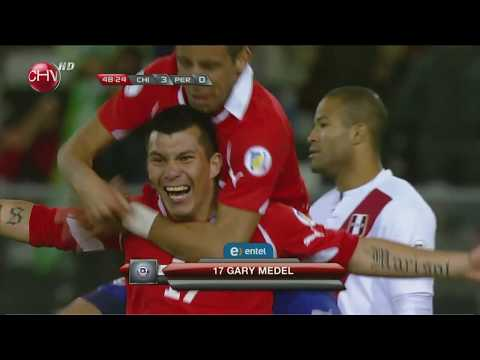 Chile Vs Perú (2T)- Clasificatorias Brasil 2014- Full HD