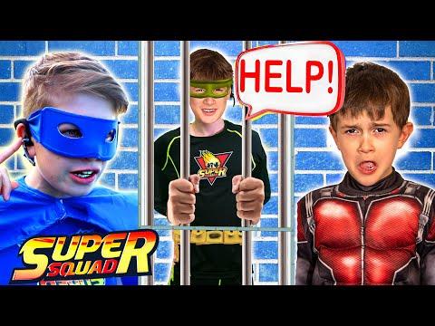 Superhero Showdown from The Secret Escape Room Hideout! - (Super Squad Episode 7)