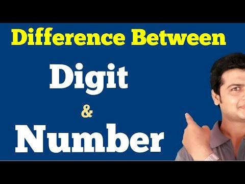 Difference Between Digit & Number | Grammar Lessons | English Grammar video | Grammar Sikhe.
