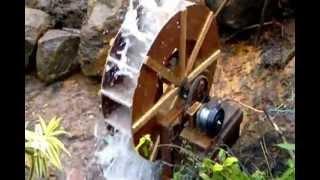 Video Water Wheel Produce Electricity in Sri Lanka MP3, 3GP, MP4, WEBM, AVI, FLV Februari 2019