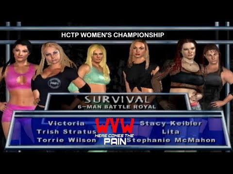 6-Woman Battle Royal - Inaugural HCTP Women's Title Match: Ep1, Oct 8, 2017