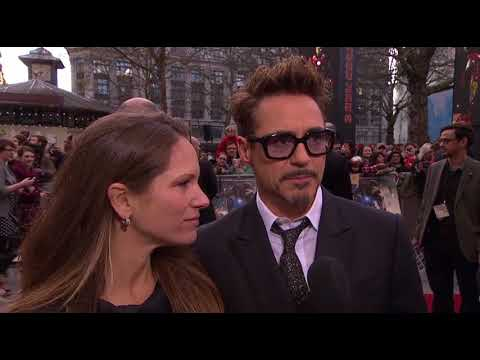 UK Premiere Robert Downey Jr. - Premiere UK Premiere Robert Downey Jr. (Anglais)