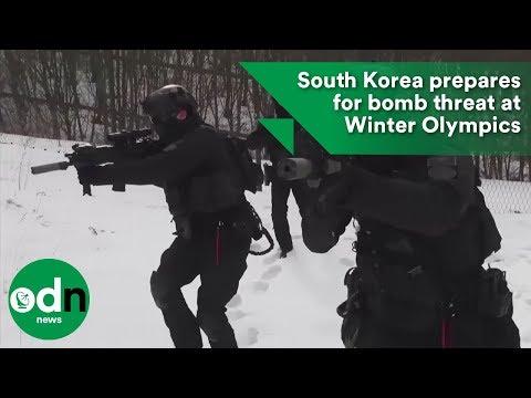South Korea prepares for bomb threat at Winter Olympics