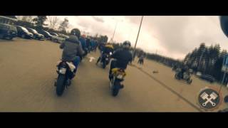 Druskininkai Lithuania  City new picture : Motorcycle season open! Druskininkai, Lithuania. (Short version)
