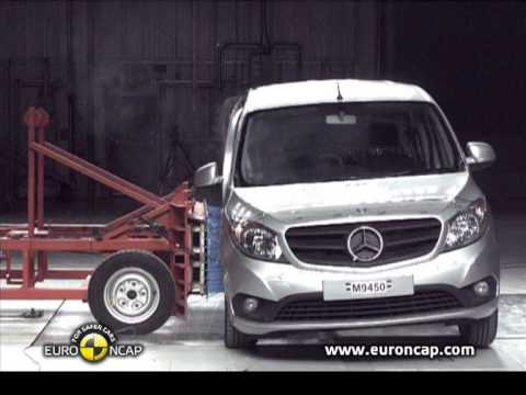 mercedes citan gets mediocre 3 star euro ncap rating. Black Bedroom Furniture Sets. Home Design Ideas