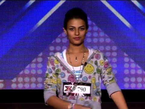 تجارب الأداء شروق أبو عراه - The X Factor 2013