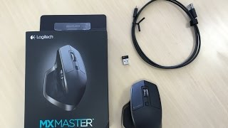 Here is the unboxing of one of the most popular and acclaimed wireless mousehttp://www.logitech.com/en-us/product/mx-mastermusic by Andrew Applepie https://soundcloud.com/andrewapplepie