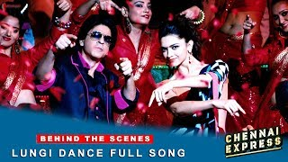 Chennai Express - Shah Rukh Khan&Deepika Padukone - Lungi Dance Full Song Making