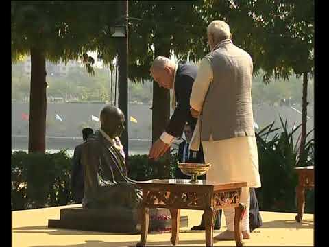PM Modi and Israeli PM Netanyahu visits Sabarmati Ashram in Ahmedabad, Gujarat