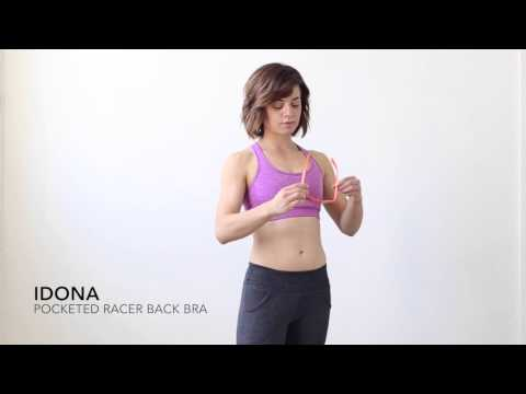 Best running bra for support with pockets
