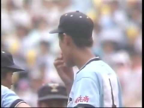 1983年全国高校野球 PL学園の本塁打