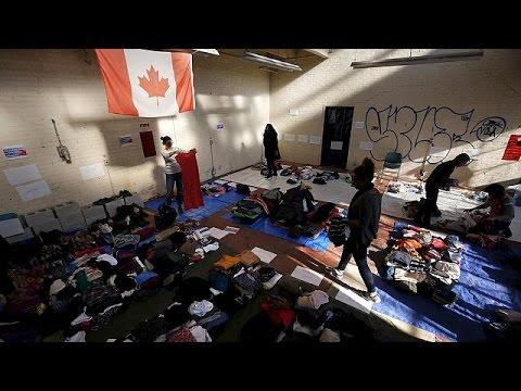 Ο Καναδάς καλωσορίζει τους πρόσφυγες