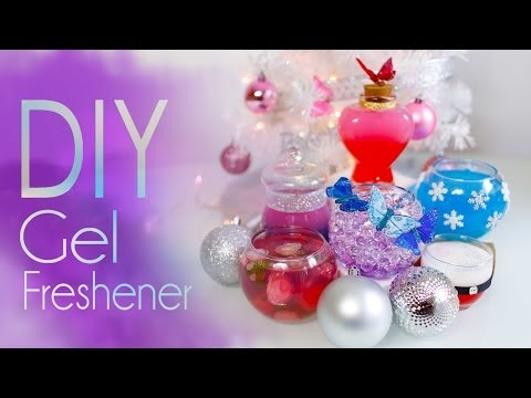 diy - Subscribe by clicking here: http://bit.ly/1hfCXXE Today we will make these super cute gel air fresheners! These would be a perfect gift idea for the holidays...