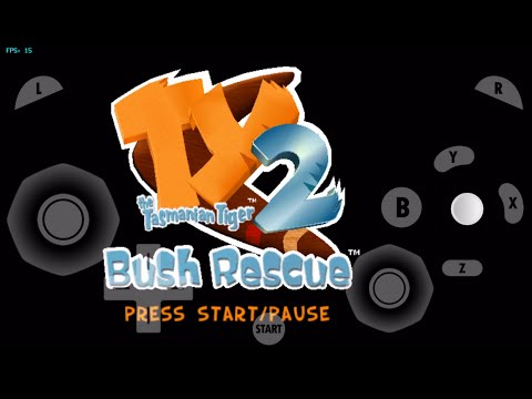GC4IOS- TY the Tasmanian Tiger 2 - Bush Rescue (Intro Test)