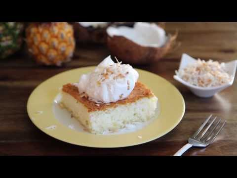 Cake Recipes – How to Make Pineapple Angel Food Cake
