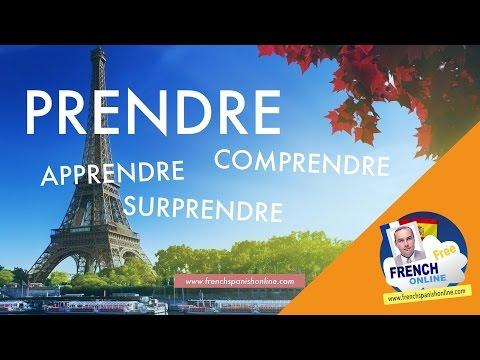 Prendre in French