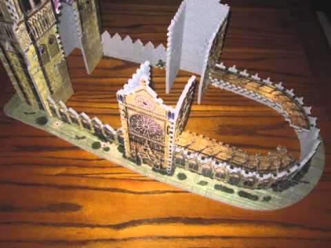 3D Notre Dame puzzle