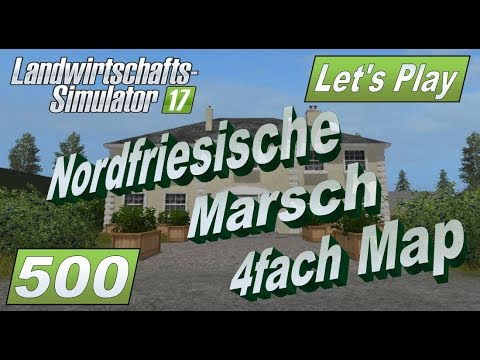 North Frisian march 4-fold map v1.7