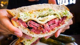 Video LA Historic Food Tour - BEST PASTRAMI  and PRIME RIB | Top Restaurants in Los Angeles, USA! MP3, 3GP, MP4, WEBM, AVI, FLV September 2019