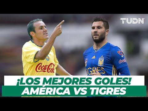 ¡GOLES IMPERDIBLES! Top 10 de golazos del América vs Tigres I TUDN