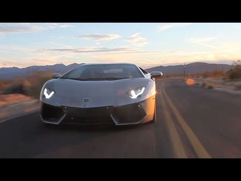 Tuned - Matt and Thaddeus go on a 700 mile road trip to Las Vegas to judge the GT Awards at SEMA... in a half-million dollar Lamborghini Aventador.