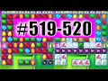 Candy Crush Soda Saga Level 519-520 NEW | Complete!