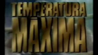 Chamada Temperatura Máxima - Rocky III - Rede Globo 1989