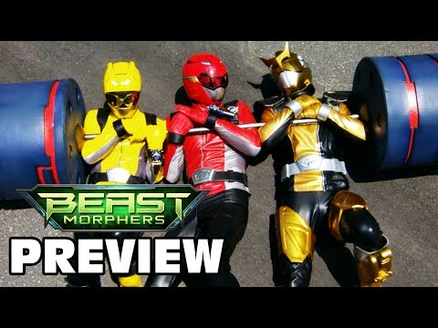 Beast Morphers Sports Special Episode Preview | Boxed In | Power Rangers Official
