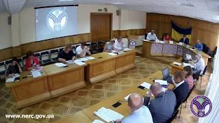Відкрите засідання НКРЕКП 15-08-2017