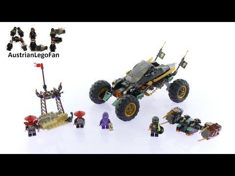 Vidéo LEGO Ninjago 70589 : Le tout-terrain de combat