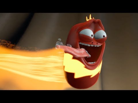 LARVA | THUNDER RED | Videos For Kids | LARVA Full Episodes