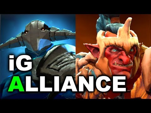 ALLIANCE vs iG - Elimination Match - SL I-League 2 DOTA 2
