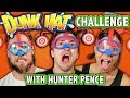 MESSY DUNK HAT CHALLENGE! (ft. Teens React Cast & Hunter Pence ) | Challenge Chalice