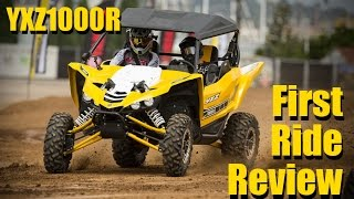 9. 2016 Yamaha YXZ1000R First Ride Review and World Launch