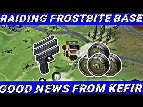 RAIDING WHILE WATING FOR SEASON 9 (FROSTBITE BASE) || LAST DAY ON EARTH SURVIVAL
