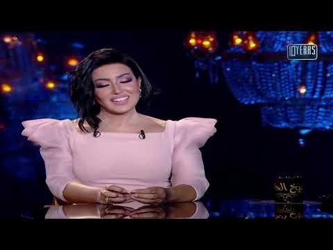 """بسمة وهبة تعتذر لأحمد سعد في حلقة سمية الخشاب من برنامج """"شيخ الحارة 3"""""""