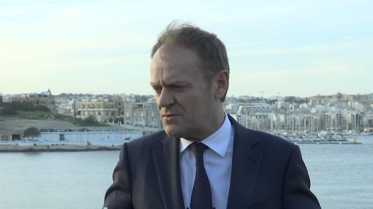 Ντ. Τούσκ: Kύριος στόχος η ανακοπή των παράνομων μεταναστευτικών ροών από την Λιβύη στην Ευρώπη