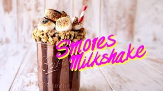 S'mores Milkshake   The Scran Line by Tastemade