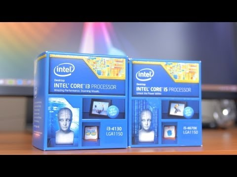 core i5 - Core i3 vs Core i5, which is best for your gaming PC? Intel has released a Haswell Core i3-4130 along with the Core i5-4670k to use in gaming PCs so in this ...