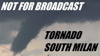Carpiano Italy  City pictures : TORNADO Raw Live NEAR MILAN - MILANO Tornado Carpiano, Landriano, Locate Triulzi 23 Maggio 2016