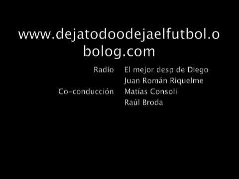 Hoy en la radio: `JR10´ El mejor después de Diego