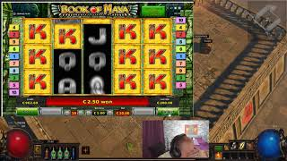 Super Big Win From Book Of Maya At OVO Casino!!