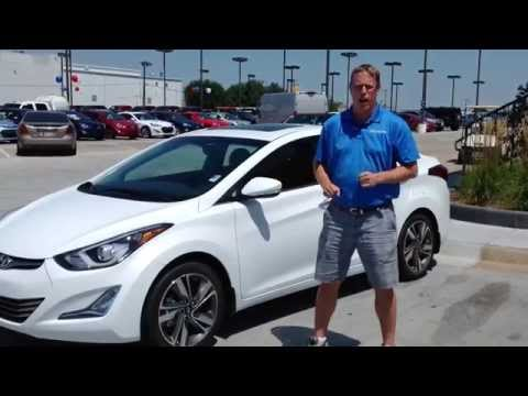 New 2015 Hyundai Elantra Test Drive Walkaround Review in Oklahoma City, Edmond, & Norman, OK