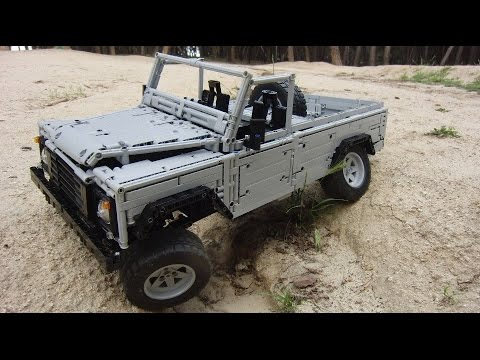 0 LEGO CUUSOO  Land Rover Defender 110 | By Sheepo