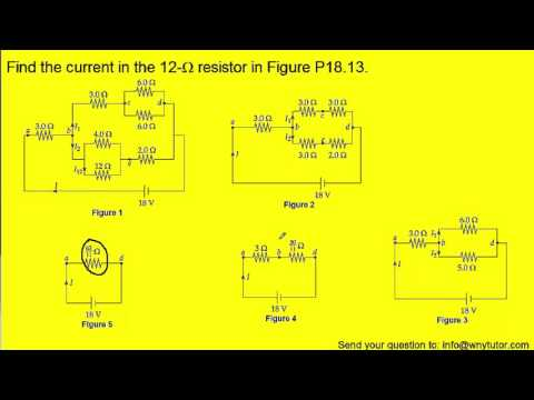 Find the current in the 12-Ω resistor in the figure below.