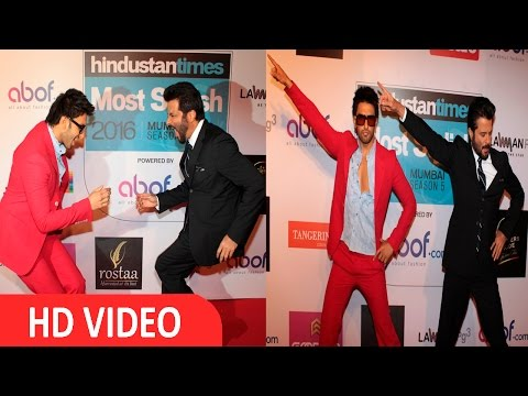 Ranveer Singh & Anil Kapoor Dance At HT Mumbai's Most Stylist Awards