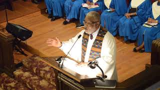 May 6, 2018 - Interim Pastor Rev. Dr. Kent L Poindexter