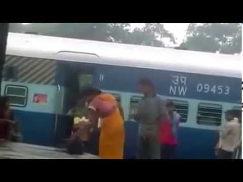 Indian Woman showing her WWE Skills